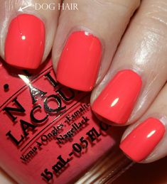 New Spring color. I think so    OPI Live. Love. Carnival from the Brazil Collection 2014.  All the corals!