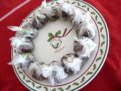 Hot cocoa truffle balls with variations!