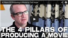 4 Pillars Of #Producing A #Movie by #Fandor CEO Ted Hope via http://filmcourage.com/   For more videos, please visit https://www.youtube.com/user/filmcourage  #filmandtelevision #entertainmentindustry #film #filmmakingtips #indiefilm