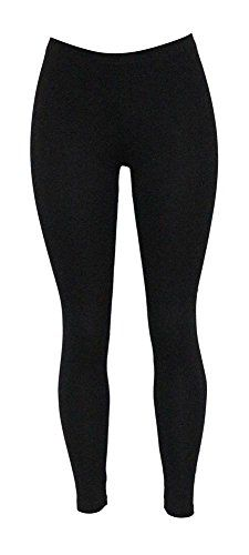 86ce5cbffe82e Jescakoo Women's Solid Cotton Blend Super Stretchy Opaque Leggings  Multi-color, super soft and