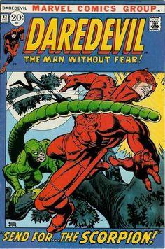 Daredevil #82. The Scorpion. Cover by Gil Kane.   #Daredevil #GilKane