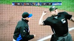 Manager Terry Collins gets ejected from the Mets - Astros game. 04/21/11. First as Mets manager, 22nd of his career.