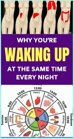 Why You�re Waking Up at The Same Time Every Night Calming Activities, Skin Rash, Endocrine System, Healthy Sleep, Stay Healthy, Healthy Brain, Body Organs, Traditional Chinese Medicine, Sleep Deprivation