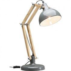 Lampa stołowa WORK STATION GREY