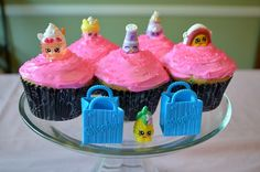 Shopkins Summer Playdate Shopkins cupcakes