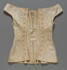 "corset back MFA ""first half, 19th century"""