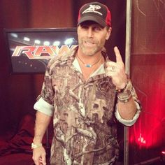 """Shawn Michaels says """"There is only one God. He watches over us each and every day."""""""