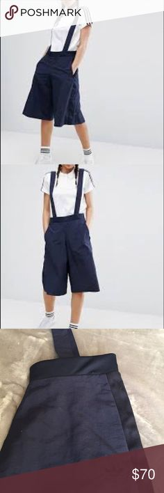 Adidas Culotte Overalls Never Worn! adidas Pants Ankle & Cropped