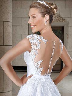 Vestidos de noiva - Coleção Callas (15) Detalhe costas