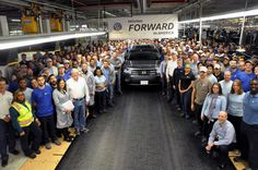 VW Atlas production commences in the USA