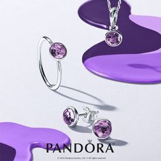 Express yourself with the Pandora Stones of Color collection. @withheartri #withheartandsoul @theofficialpandora #amethyst #birthstone #loyalty #tranquility #innerstrength #shoplocal #sparkle