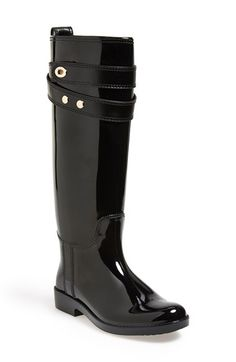 COACH 'Talia' Waterproof Rain Boot (Women) available at Adidas Shoes Outlet, Nike Shoes Cheap, Coach Bags Sale, Coach Outlet, Mud Boots, Coach Rain Boots, Rain Boots Fashion, Nike Boots, Boating Outfit