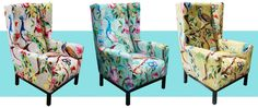 We offer unique accent chairs for living room to enrich your space and provide additional seating. Find beautiful chair occasional pieces to complement your interior style. Funky Furniture, Colorful Furniture, Painted Furniture, Home Interior, Interior Design, Occasional Chairs, Upholstered Furniture, Home Furnishings, Room Decor
