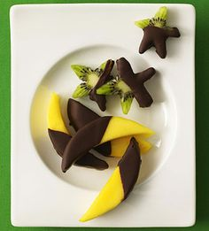 Holiday Cooking with Your Kids: Starry Chocolate Fruit (via Parents.com)
