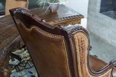 Oakley Alligator Executive Swivel   Brumbaugh's Fine Home Furnishings Executive Chair, Nailhead Trim, Home Office Furniture, Home Furnishings, Oakley, Hardwood, Leather, Design, Beds