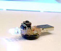 Supercapacitor Programmable Attiny LED flashlight