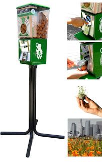 Rebuilding Place in the Urban Space: Seed bombs: Greenaid vending machines