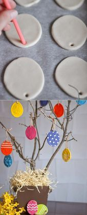 27 Easy and Low-Budget Crafts to Make This Easter Kids Crafts, Diy Home Crafts, Easter Crafts, Crafts To Make, Christmas Crafts, Summer Crafts, Fall Crafts, Diy Osterschmuck, Easy Diy