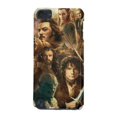 The Hobbit Desolation of Smaug Characters iPod Touch (5th Generation) Case