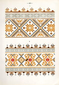 Belarusian ethnic embroidery Cushion Embroidery, Folk Embroidery, Embroidery Fashion, Cross Stitch Embroidery, Embroidery Patterns, Machine Embroidery, Ethnic Patterns, Loom Patterns, Cross Stitch Borders