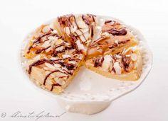 Boterkoek met peer en chocolade |