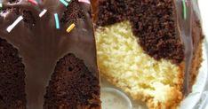 Moja ulubiona  dwukolorowa babka.  Piekę ją bardzo często  na Wielkanoc. Myślę, że w tym roku  także:))   Składniki:  250g mąki  250g mas... Krispie Treats, Rice Krispies, Shapewear, Cooking Recipes, Pudding, Bakeries, Food, Cakes, Meal