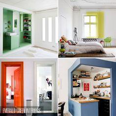 Colour pop interior ideas