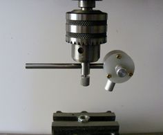 This device was constructed to replace a similar device that was built around laser pointer, see here . The previous device worked well but the laser pointer eventually failed and a suitable. Milling Machine, Machine Tools, Homemade Tools, Diy Tools, Pendulum Clock, Vintage Microphone, Sheet Metal, Pointers, Metal Working
