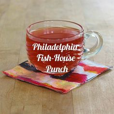 A recipe for the American classic Philadelphia Fish-House Punch, plus a look into its history.