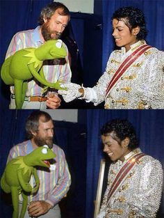 Jim Henson and Michael Jackson | Rare and beautiful celebrity photos