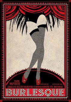 Burlesque, Polish Poster
