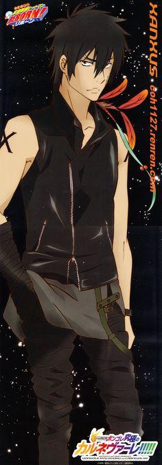 Akira Amano, Artland, Katekyo Hitman Reborn!, Xanxus, Stick Poster