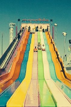 Super slide! I remember this in the 60's!