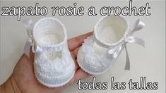 zapato rosy a crochet baby shoes bebe luissita torres, related videos and comments Best Baby Shoes, Cute Baby Shoes, Baby Girl Shoes, Baby Shoes Pattern, Shoe Pattern, Baby Patterns, Booties Crochet, Crochet Baby Booties, Crochet Slippers