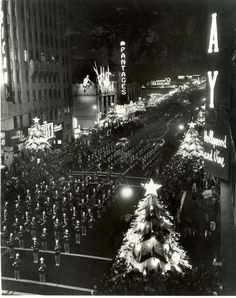 """In 1928, the Hollywood Chamber of Commerce decorated Hollywood Boulevard with live Christmas trees.  Then Santa Claus on a reindeer powered sleigh made an appearance,  beginning a long history of  """"The Santa Claus Lane Parade."""" It was later named """"The Hollywood Christmas Parade"""" It always begins in front of the Chinese Theatre and goes about 2.5 miles down Hollywood Blvd. I used to watch it every year..."""