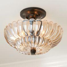 Semi Flush Lighting, Semi Flush Ceiling Lights, Glass Ceiling Lights, Flush Mount Ceiling, Ceiling Fan, Ceiling Light Shades, Ceiling Light Fixtures, Lighting Shades, Bernstein