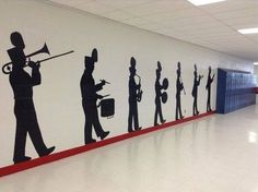Might just ask my band director to let us decorate the band room with something like this Band Nerd, Music Jokes, Music Humor, Band Problems, Flute Problems, Marching Band Memes, Band Rooms, High School Band, Band Director