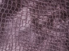 Crocodile Texture Velvet Heavy Upholstery Fabric Excellent for Upholstery Use, and any other fun creative things you can dream up! Polyester, 54 inches wide, sold by the yard. Horizontal repeat is inches and vertical repeat is inches Art Deco Stoff, Art Deco Fabric, Textures Patterns, Snake Skin, Crocodile Hunter, Design Inspiration, Velvet, Upholstery Fabrics, Creative Things