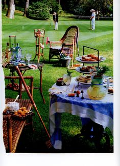 backyard croquet for Derby Party