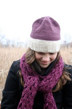 Organic wool and cotton eggplant purple by baldyhillhomemade, $40.00