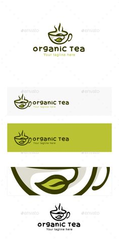 Organic Tea - Natural Drink Logo Design