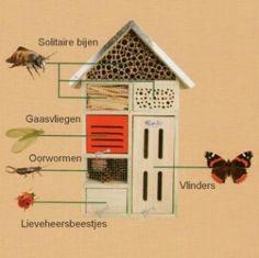 insectenhotel tekening - Google zoeken