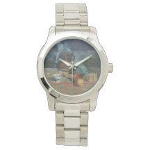 Bodegón a espátula/Natureza morta/Still life Reloj De Mano