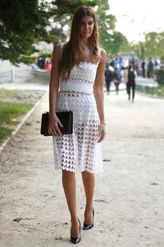 Model Bianca Brandolini DAdda at Paris Haute Couture Fashion Week/ Photography by Anthea Simms
