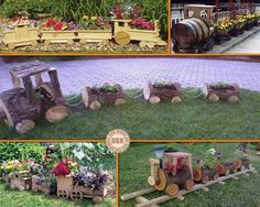 Choo choo… What do you think of these wooden train planters - are you coming aboard or will you let this idea pass? on The Owner-Builder Network  http://theownerbuildernetwork.co/social-gallery/choo-choo-what-do-you-think-of-these-wooden-train-planters-are-you-coming-aboard-or-will-you-let-this-idea-pass