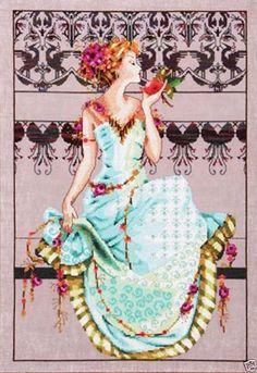 Mirabilia Nora Corbett Cross Stitch Chart Persephone MD127 Sale   eBay