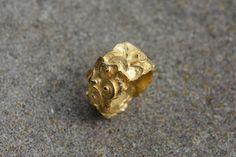 golden poppies ring