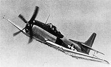 The XBTK-1 in flight, 1945.
