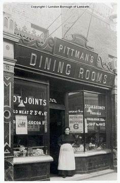 Pittman's Dining Rooms, Vassal Road, Brixton North