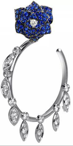 Piaget Rose Hoop Earrings